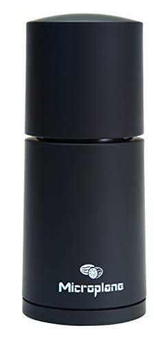 Microplane Gewürzmühle Schwarz für Muskatnuss Zimt Tonkabohnen - 1